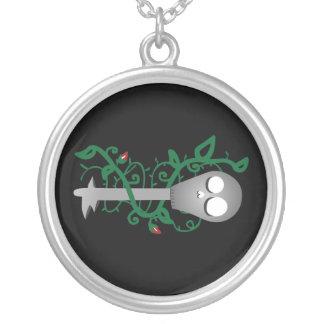 合い鍵 シルバープレートネックレス