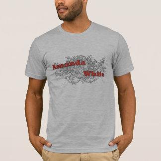 合うアマンダの白いオウム Tシャツ
