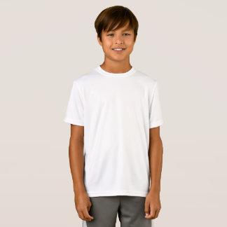 合うカスタマイズ子供のスポーツTekの性能 Tシャツ