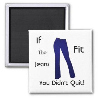 合うジーンズ-やめませんでした マグネット