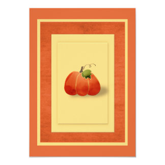 合う秋のカボチャシンプル カード