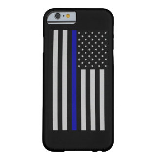 合う薄いブルーライン旗 BARELY THERE iPhone 6 ケース