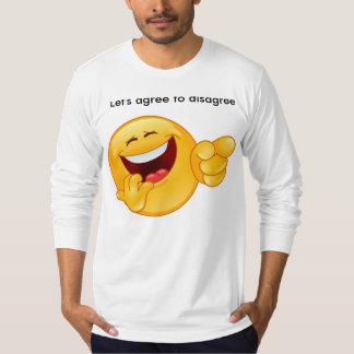 合わない同意しよう Tシャツ