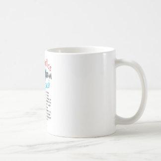 合意Coffeeholics! 12ステップ コーヒーマグカップ