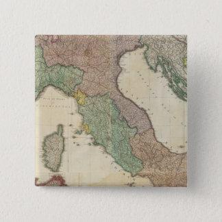 合成のイタリア2 5.1CM 正方形バッジ