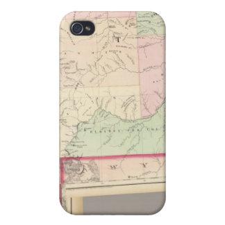 合成のモンタナ、アイダホ iPhone 4/4S CASE