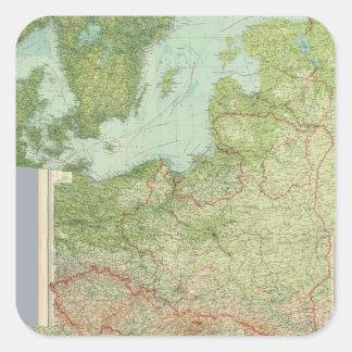 合成の中央ヨーロッパ スクエアシール