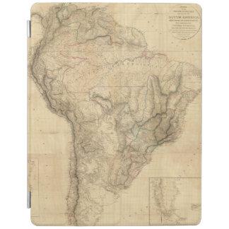 合成の南アメリカ4 iPadスマートカバー