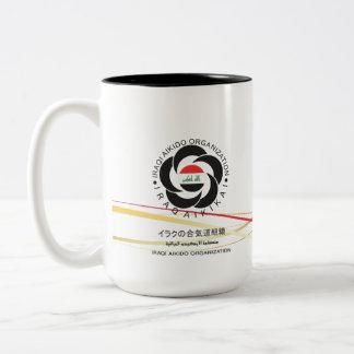 合気道のイラクのマグ ツートーンマグカップ