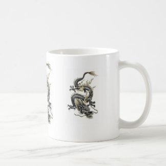 合気道のドラゴン コーヒーマグカップ