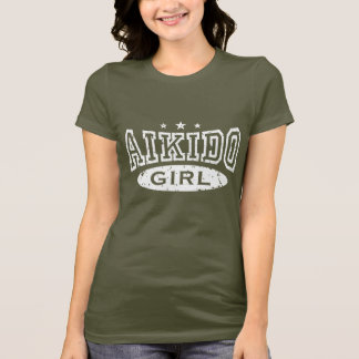 合気道の女の子 Tシャツ