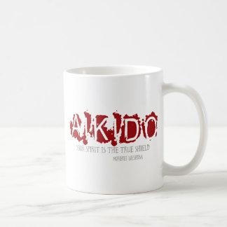 合気道の引用文 コーヒーマグカップ