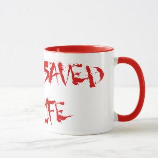 合気道は私の生命を救いました マグカップ