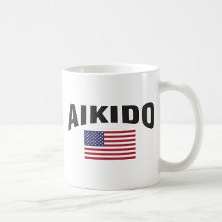 合気道米国は印を付けます コーヒーマグカップ