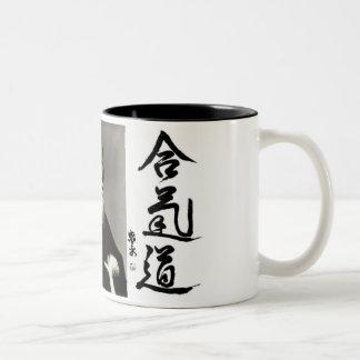 合気道 ツートーンマグカップ