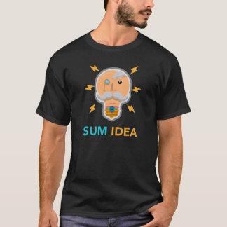 合計のアイディア-公式のロゴのTシャツ Tシャツ