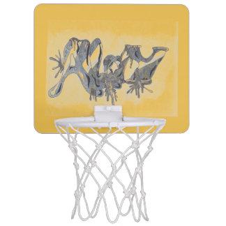 合金の小型バスケットボールのゴール ミニバスケットボールゴール