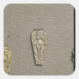 吊り下げ式の描写のAstarteの豊饒の女神 スクエアシール