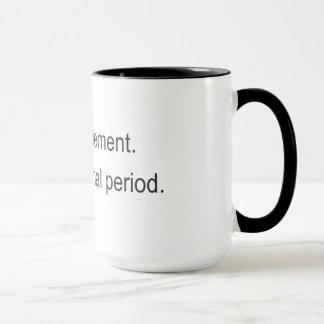 同じは、詩人のための違うな日排泄します マグカップ