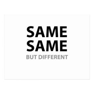 同じ同じしかし違う ポストカード