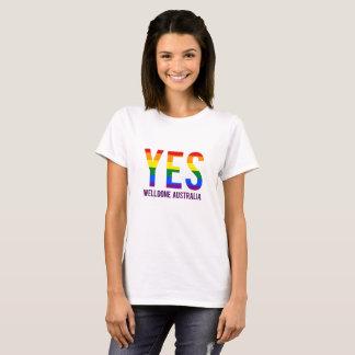 同じ性の結婚オーストラリア Tシャツ