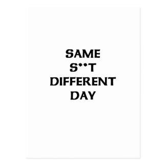 同じs ** tの違うな日 ポストカード
