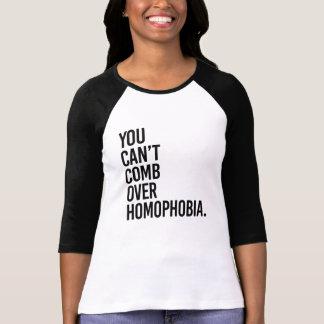 同性愛恐怖症にとかすことができません- Tシャツ