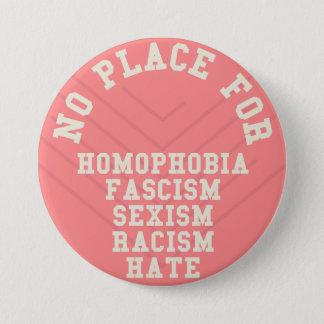 同性愛恐怖症の引用文のための場所無し 缶バッジ