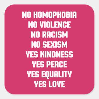 同性愛恐怖症の引用文無し スクエアシール