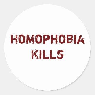 同性愛恐怖症の殺害 ラウンドシール