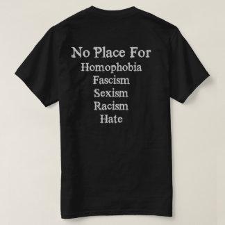 同性愛恐怖症のTシャツのための場所無し Tシャツ