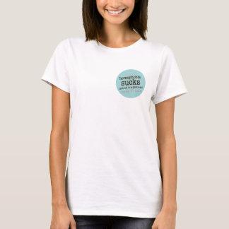 同性愛恐怖症は女性のTシャツを吸います Tシャツ