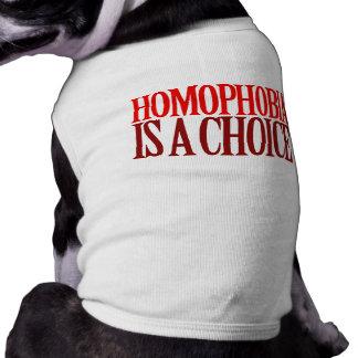 同性愛恐怖症は選択です ペット服