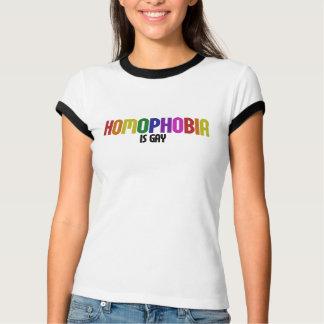 同性愛恐怖症は陽気です Tシャツ