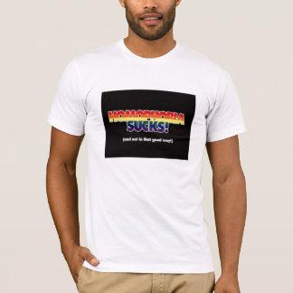 同性愛恐怖症はTシャツを吸います Tシャツ
