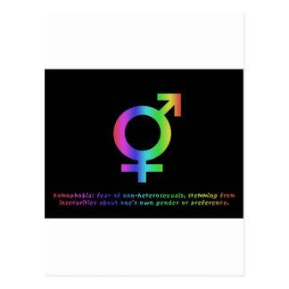 同性愛恐怖症 ポストカード