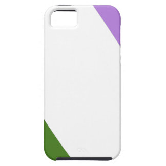 同性愛者かGenderqueerのプライドの旗 iPhone SE/5/5s ケース