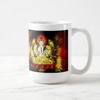 同情の仏 コーヒーマグカップ