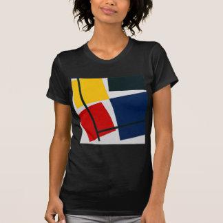 同時反対のCompositionセオvan Doesburg Tシャツ