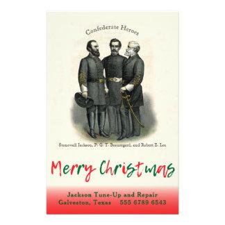 同盟のクリスマスの自動カスタムな店のテンプレート チラシ