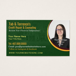 名刺のテンプレートに勧める信用修理 名刺