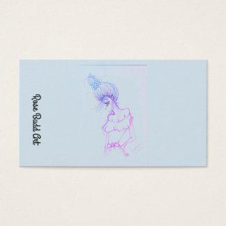 名刺の標準的な淡いブルー 名刺