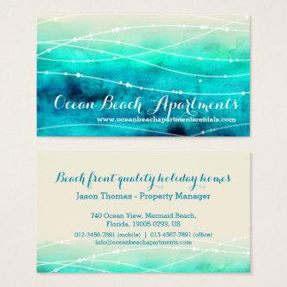 名刺を可能にするビーチの沿岸特性 名刺