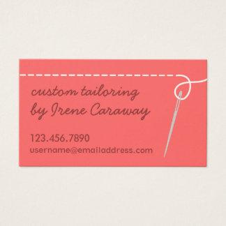 名刺を縫うDressmakingの変化 名刺