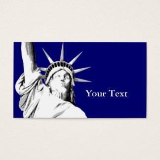 名刺アメリカの自由の女神 名刺