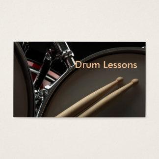 名刺: ドラムレッスン 名刺