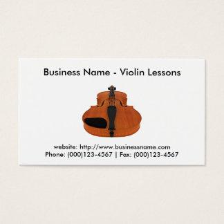名刺: バイオリンレッスン 名刺