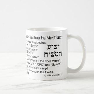 名前で信じて下さい コーヒーマグカップ