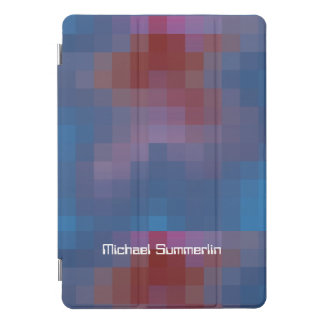 名前と完全なピクセル iPad PROカバー