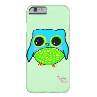 名前のかわいいのフクロウ BARELY THERE iPhone 6 ケース